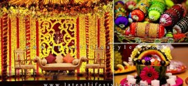 Mehndi Decoration Ideas: Stage, Flowers & Hall