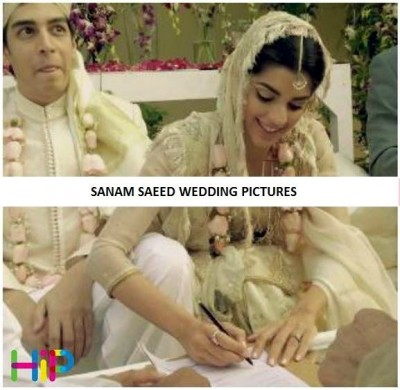 Sanam Saeed Complete Wedding Pics