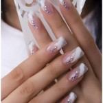 Wedding Acrylic Nail Polish Designs