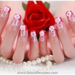 Wedding Nails Polish Art Designs