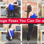 Easy Yoga Exercises at Office Chair