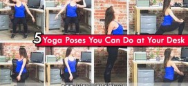5 Simple Yoga Poses You Can Do at Your Desk