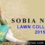 Sobia Nazir Designer Summer Lawn Collection 2015