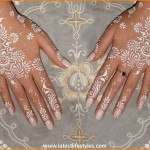 White Henna Designs for Hands