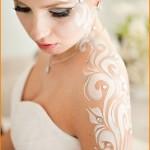 White Henna for Arabic Brides