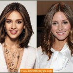 Blunt Shoulder Length Hairstyle for Parties