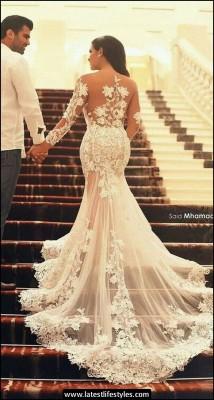 Online Wedding Plus Size Bridal Gowns 2015-16