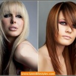 Fringes Women Hairstyles for Parties