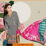 Sana Safinaz New Lawn Designs 2015 Fashion