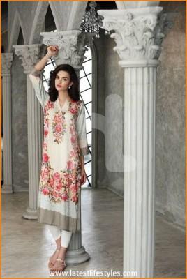 Nishat Textiles Eid 2015 Summer Lawn Collection