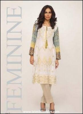 Shariq Textile Feminine Embroidered Eid Collection 2015