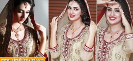 Pakistani Actress Sarah Khan Latest Bridal Photo Shoot