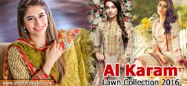 Alkaram Spring Lawn Collection 2016 Vol. I with Prices