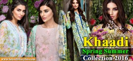 Khaadi Lawn 2016 Summer Collection with Prices