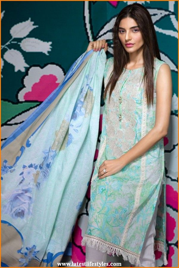 Khaadi Spring Summer Lawn Collection 2016 Catalog